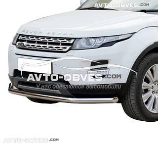 Защита бампера одинарная Land Rover Evoque (5-7 дней)