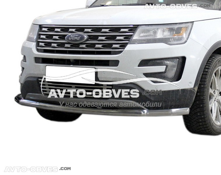 Захист бампера одинарна Ford Explorer 2016-2018 (5-7 днів)