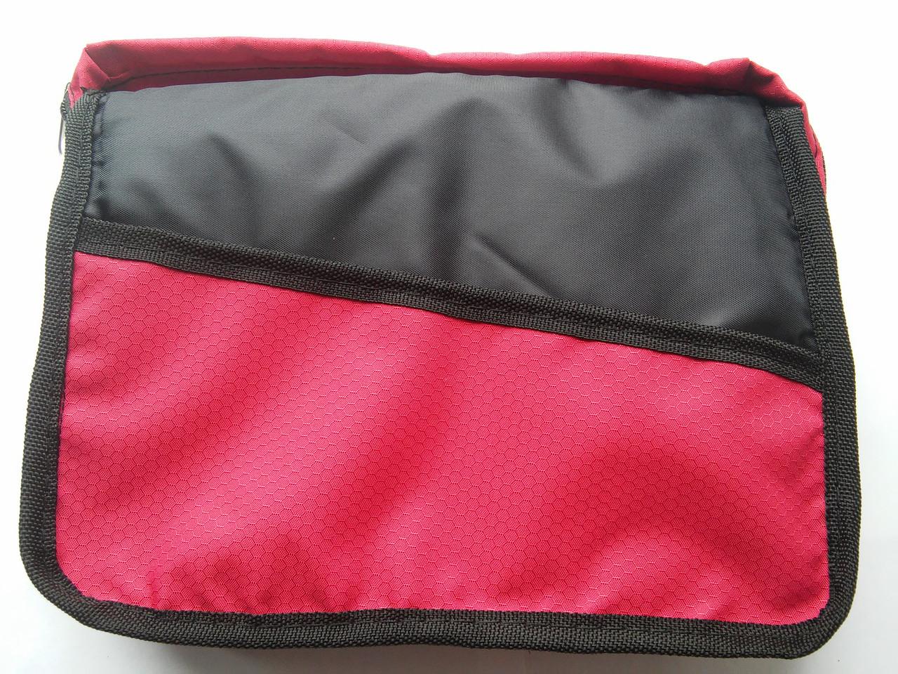 Чохол для Біблії (червоний) Розмір: 18Х25,5 см (077)