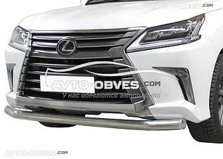 Защита бампера одинарная Lexus LX570 (5-7 дней)