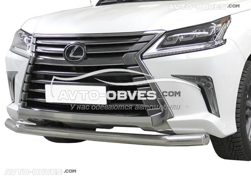 Захист бампера одинарна Lexus LX570