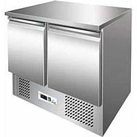 Холодильный стол Rauder SRH S901 двухдверный с нижним агрегатом для маленьких помещений