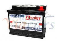 Аккумуляторная батарея 60Ah/480A (242x175x190/+R), код 406002, SOLGY