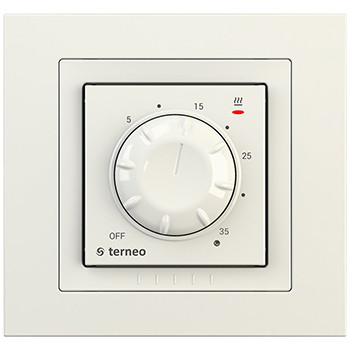 Терморегулятор для нагревательных панелей terneo rol unic