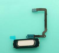 Шлейф (Flat cable) с кнопкой HOME для Samsung Galaxy S5 G900F   G900H (белый цвет)