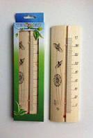 Термометр для сауны и бани ТСС-4 из дерева, фото 1