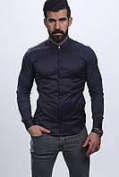 Черная мужская рубашка хорошего качества