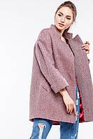 Демисезонное шерстяное пальто Марьям