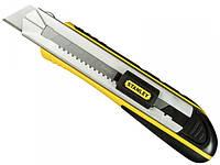 Нож Stanley FatMax Cartridge с выдвижным сегментным лезвием 25 мм 215 мм + 4 запасные лезвия