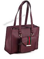 Рюкзак женский David Polo 205 bordo