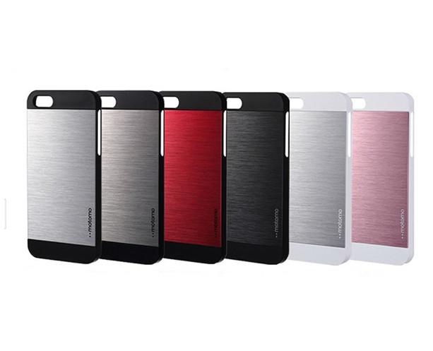 Чехол накладка для iPhone 5 Motomo INO Metal