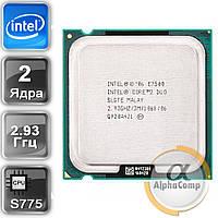 Процессор Intel Core2Duo E7500 (2×2.93GHz/3Mb/s775) БУ