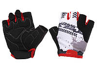 Вело перчатки C-Moke, черно-красные, XL