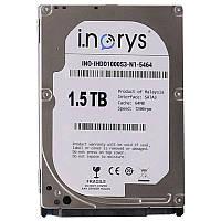 ➤Жесткий диск i.norys 1.5TB 7200rpm 64MB (INO-IHDD1500S3-D1-7264) компьютерный универсальный