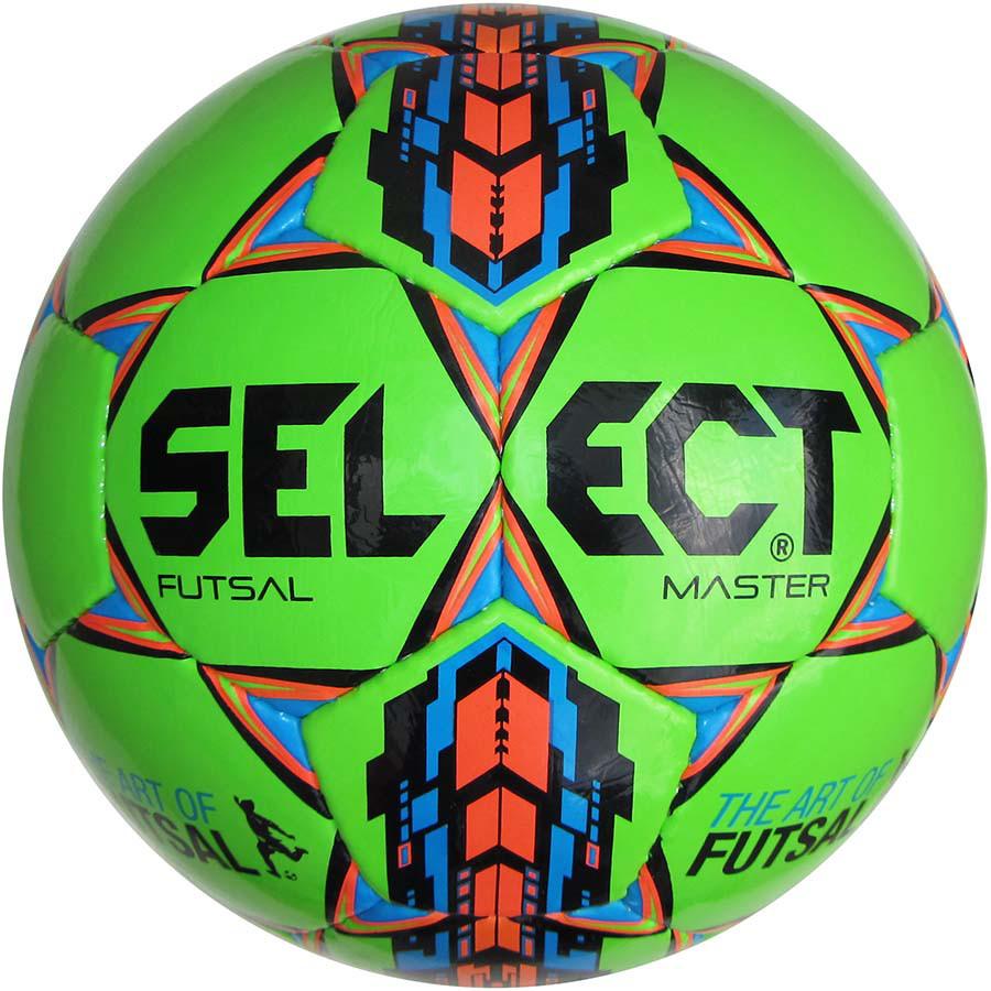 Футзальный мяч Select Futsal Master IMS размер 4 зеленый