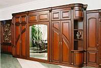 Шкаф из натурального дерева шкаф-купе