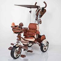 Детский трехколесный велосипед Lexus Trike KR01 коричневый