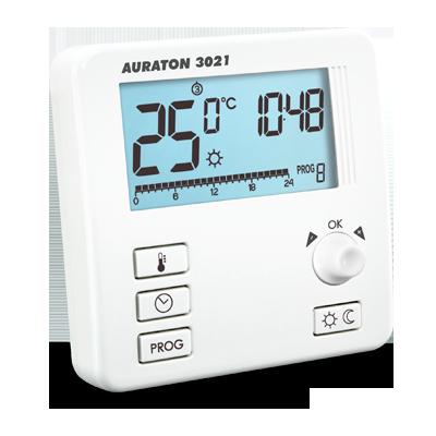 Комнатный термостат Auraton 3021 - проводной - программатор