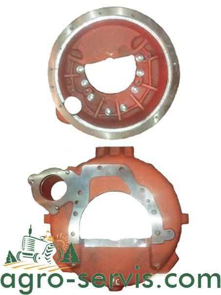 Картер Маховика ЮМЗ с двигателем СМД-15 под стартер 15Н-08.0103