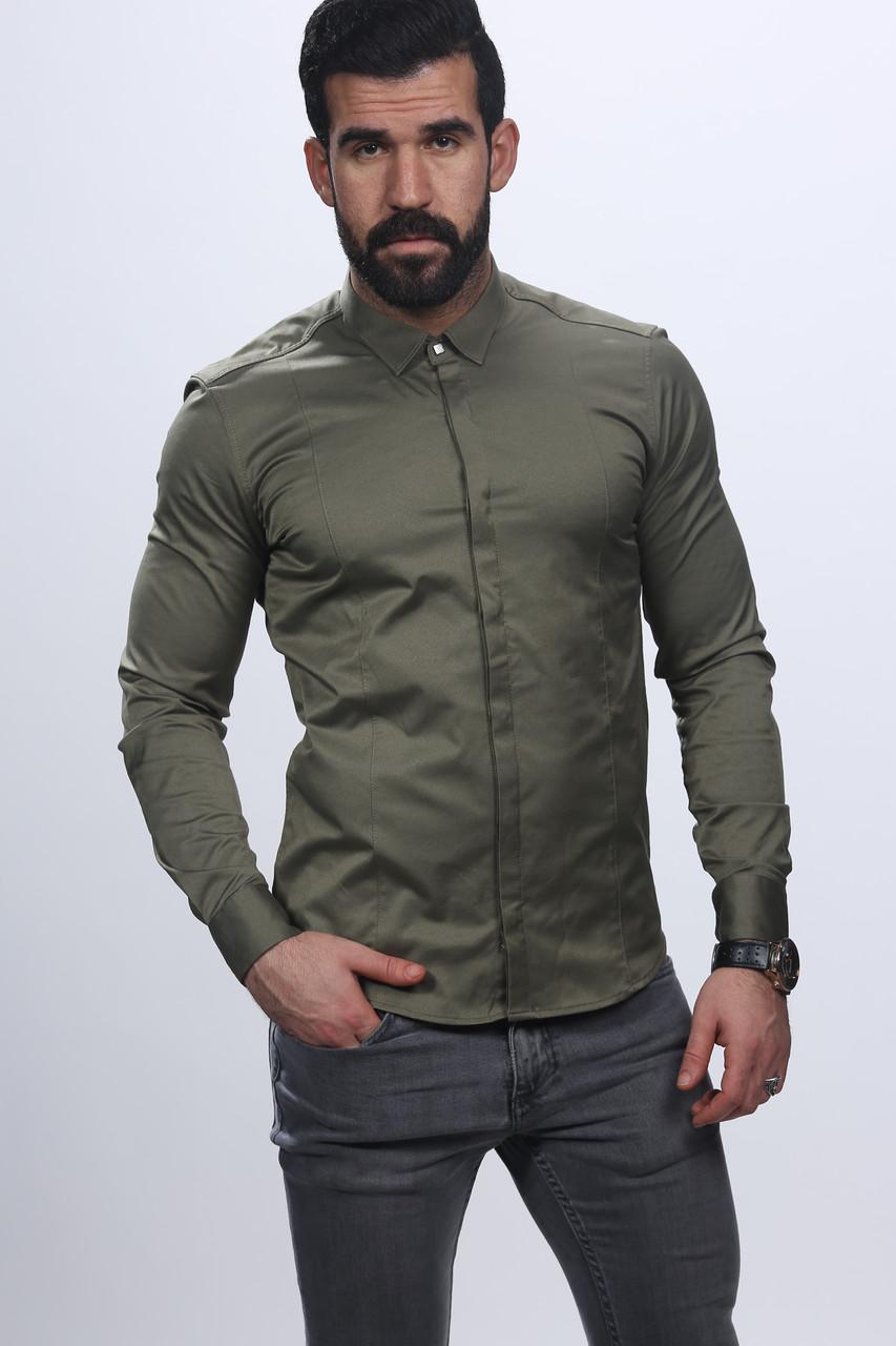 8d9cd9d2a425e92 Приталенная мужская рубашка оптом и в розницу - Интернет-магазин