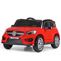 Детский электромобиль Mercedes M 3624 EBLR-3: 50W, 12V, EVA, кожа - КРАСНЫЙ - купить оптом , фото 1