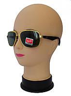 Мужские солнцезащитные очки линза-стекло качественная реплика Ray Ban