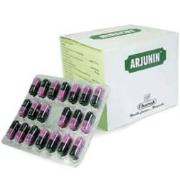 Арджунин, сильный кардиопротектор, боли в сердце, аритмия, снижение давления, 20 капсул
