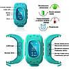 GW300 Smart Baby Watch Q50 детские смарт часы с трекером, камуфляжные, фото 6
