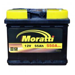 Аккумулятор Moratti 6СТ-55-АЗ (0) Евро
