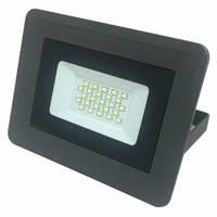 Светодиодный прожектор Biom 20Вт Slim холодный белый