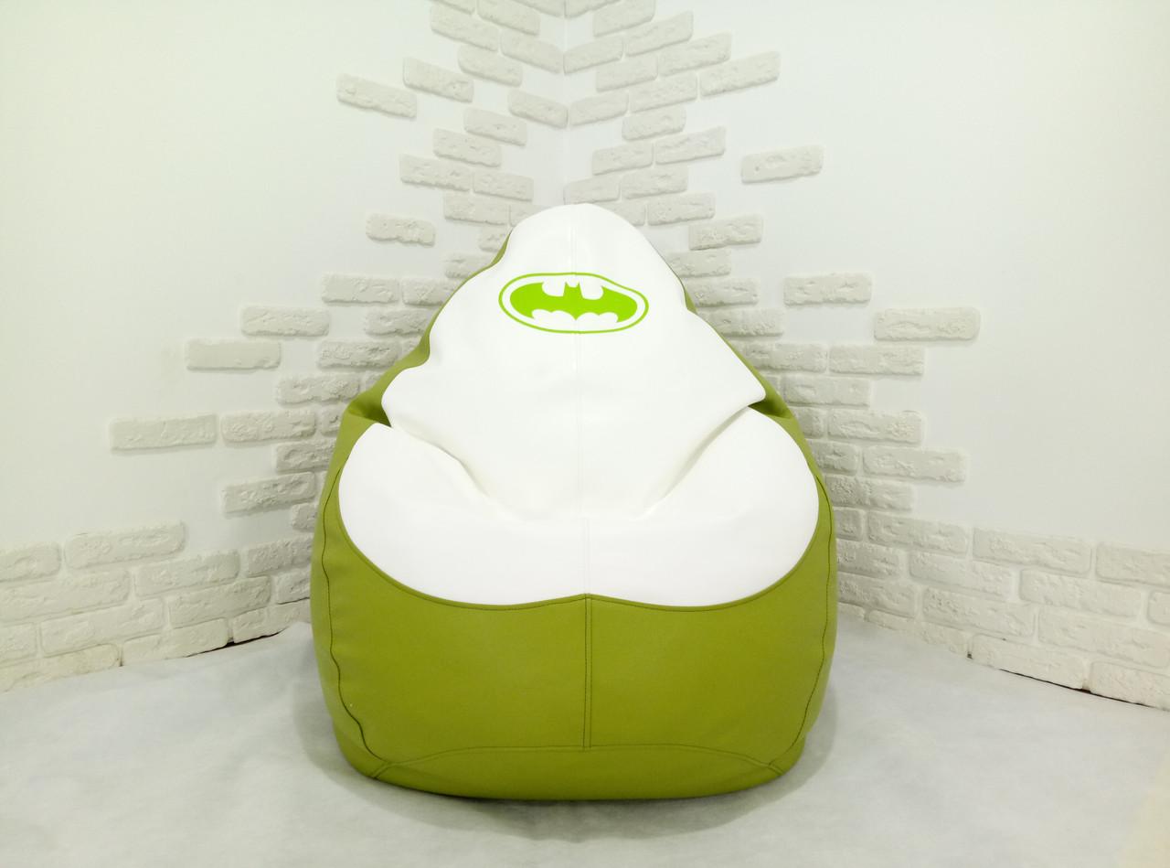 """Кресло груша """"Batman"""" 2 Экокожа"""