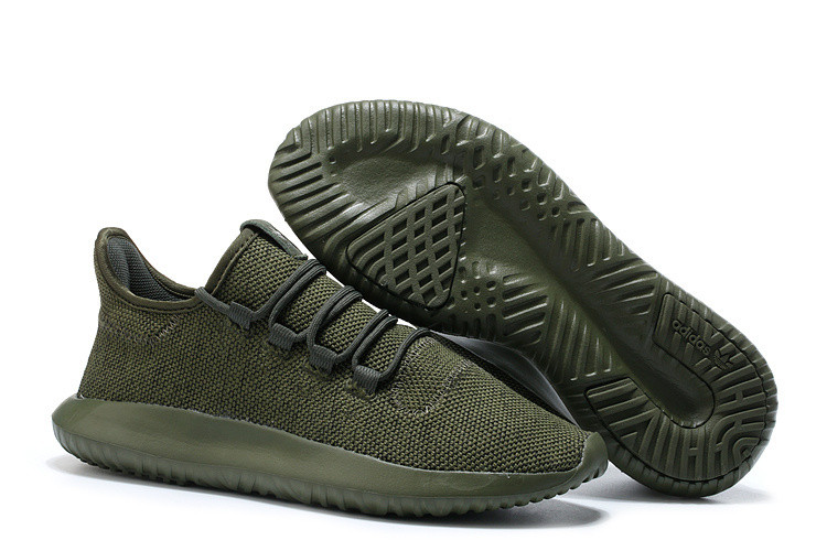 Кроссовки мужские Adidas TUBULAR Shadow KNIT Cardboard хаки