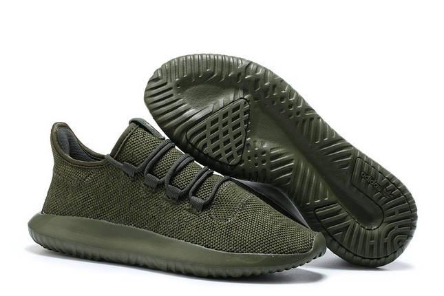 Кроссовки мужские Adidas TUBULAR Shadow KNIT Cardboard хаки, фото 2