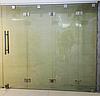 4 Перегородка гармошка из каленого прозрачного стекла, фото 2