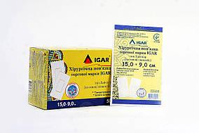 Хирургическая повязка IGAR тип Лайтпор (на основе спанлейс) 15*9.0 см.