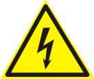 """Знак """"Обережно! Електрична напруга"""""""