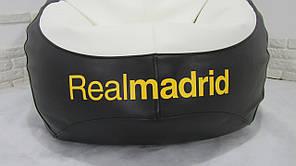 """Кресло груша """"Реал Мадрид"""" Экокожа, фото 3"""