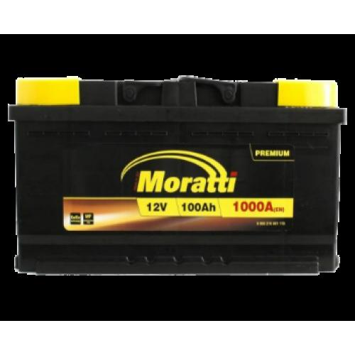 Аккумулятор Moratti Premium 6СТ-100-АЗ (0) Евро