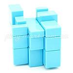 Зеркальный кубик Рубика 3х3 Shengshou Mirror Blue, фото 3