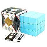 Зеркальный кубик Рубика 3х3 Shengshou Mirror Blue, фото 4