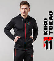 Kiro Tokao 492   Мужская толстовка для спорта черная