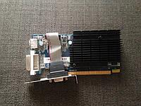 НИЗКОПРОФИЛЬНАЯ ВИДЕОКАРТА Pci-E RADEON HD 5450 c HDMI на 1 GB ГАРАНТИЕЙ ( видеоадаптер 5450 1gb  )