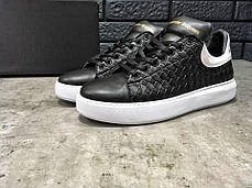 "Кроссовки, Кеды Alexander MCqueen Shoes ""Black/White"", фото 3"