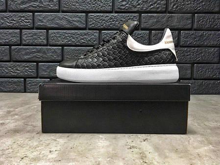 "Кроссовки, Кеды Alexander MCqueen Shoes ""Black/White"", фото 2"