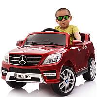 Детский электромобиль M 3568 EBLRS-3 (Mercedes ML 350): 70W, 6 км/ч, EVA, кожа - BORDO PAINT - купить оптом , фото 1