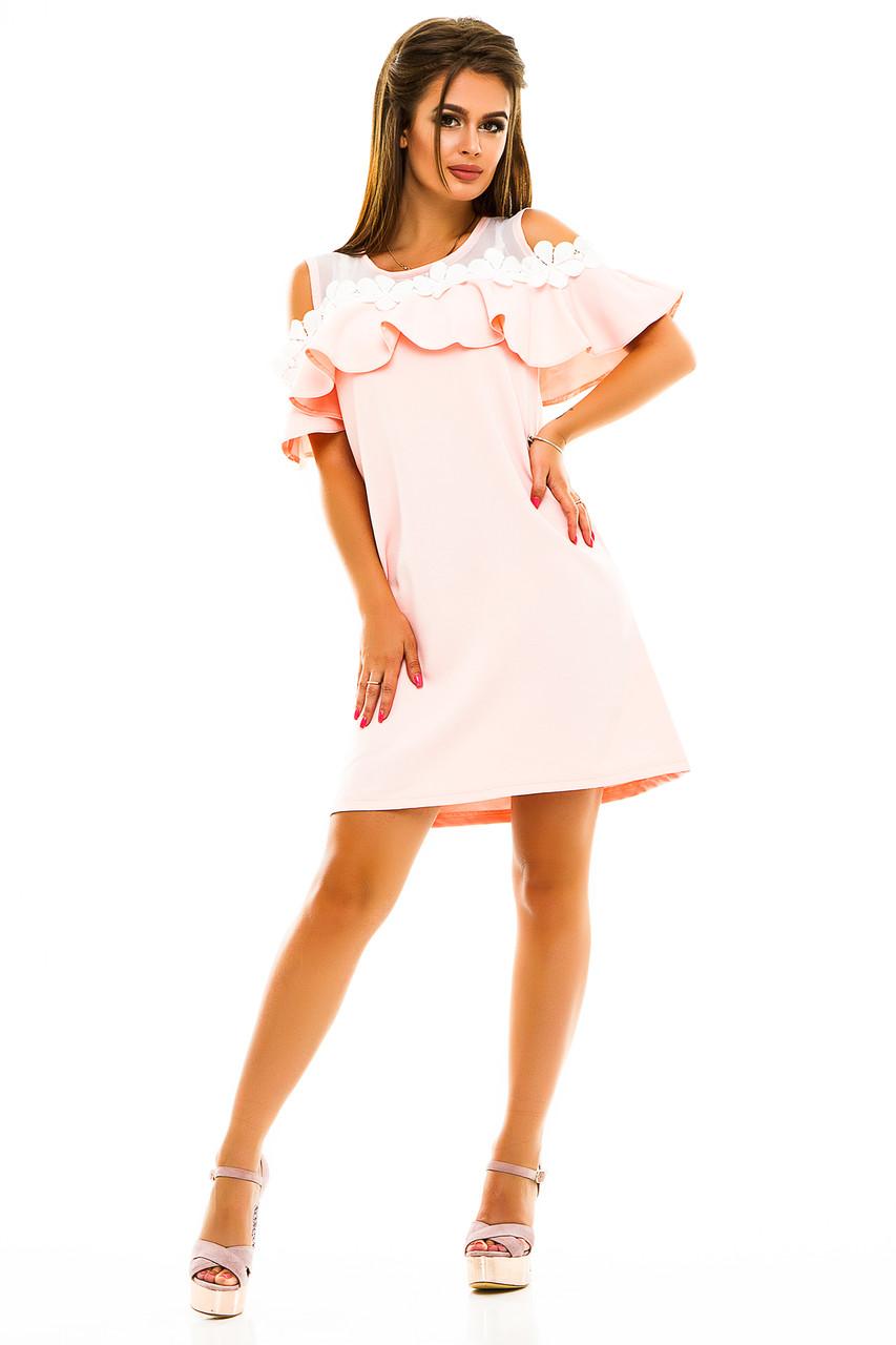 c5fb1646ef0 Летний яркий женский сарафан с открытыми плечами - Интернет магазин женской  одежды Olledar в Одессе