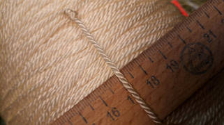 "Ø шнура 2.5 мм(187*4*3) - матеріал ""Капрон"""