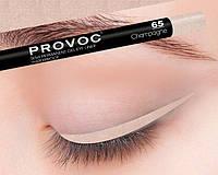 Копия Полуперманентный гелевый карандаш для глаз №65 (цв.шампанского, шиммер) PROVOC Gel Eye Liner Champagne