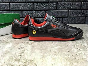"""Кроссовки Puma Roma Ferrari """"Black"""", фото 2"""