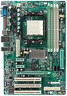 Плата под AMD sam2 BioSTAR NF520-A2 УЦЕНКА- ЗВУК ! ПОНИМАЕТ ЛЮБЫЕ 2 ЯДРА ПРОЦЫ Athlon X2 до 5600+ с Гарантией